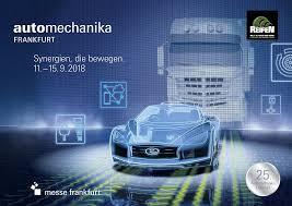 Ariap visita AUTOMECHANICA Frankfurt 2018