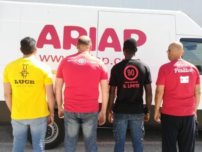 Pronta la nuova collezione di magliette ARIAP 2019
