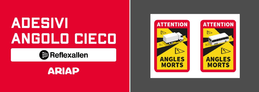 Promo adesivi angoo cieco reflex & allen, Ariap ricambi trucks