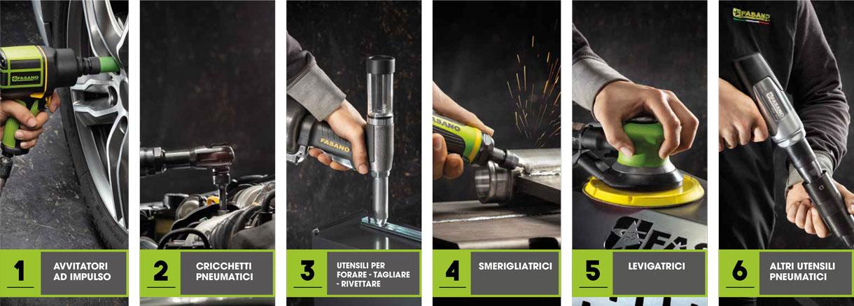 vendita attrezzature e utensili per officina - Fasano Tools