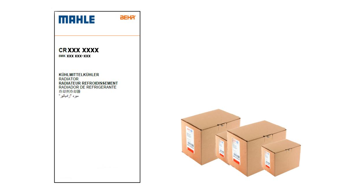 esempio nuova etichetta mahle