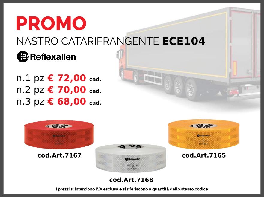 Promozione nastro catarifrangente ECE104 | Ariap ricambi sicilia